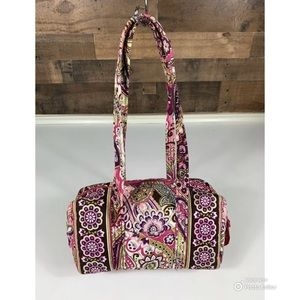 Vera Bradley Retired Handbag in Very Berry Paisley